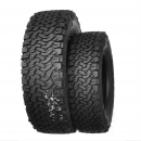 New design of the BFG KO2 tread by Pneus Ovada